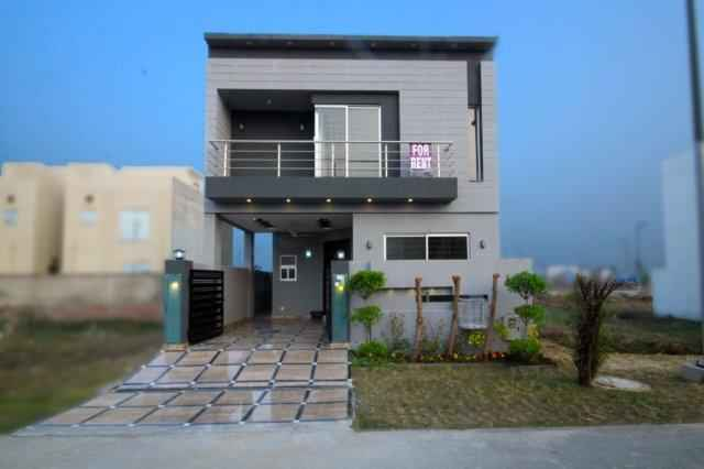 5 Marla Brand New House for Rent in Phase 7
